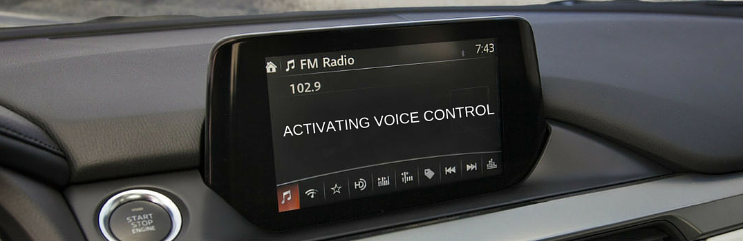 How to use Mazda voice controls