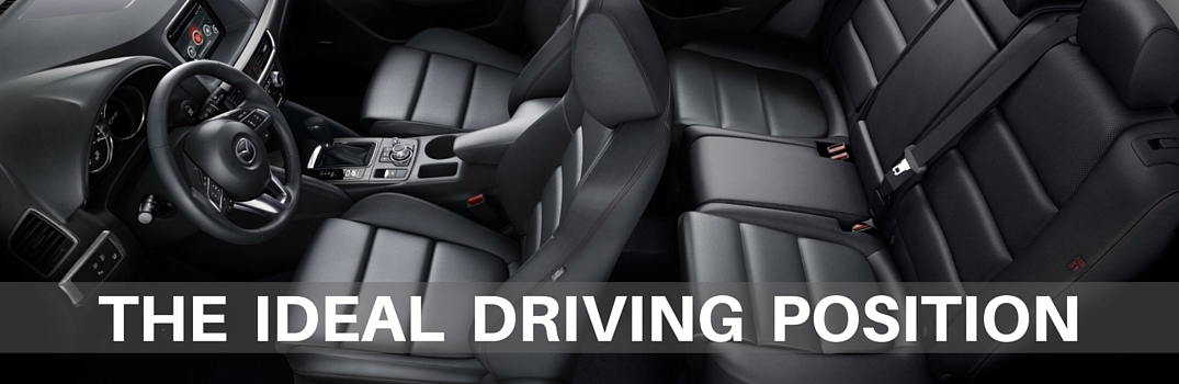 What is the ideal driving position?