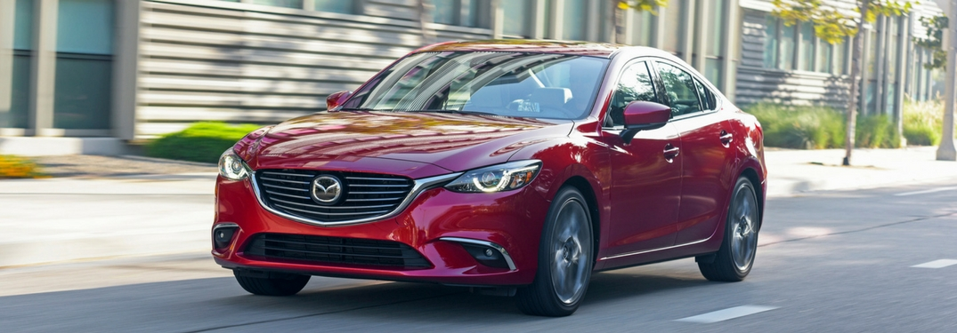 Features and specs of the 2017 Mazda6