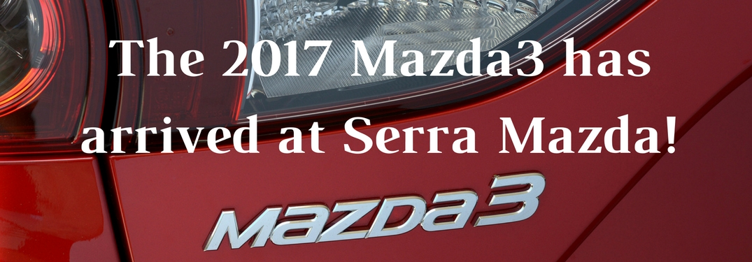 Standard safety features of the 2017 Mazda3