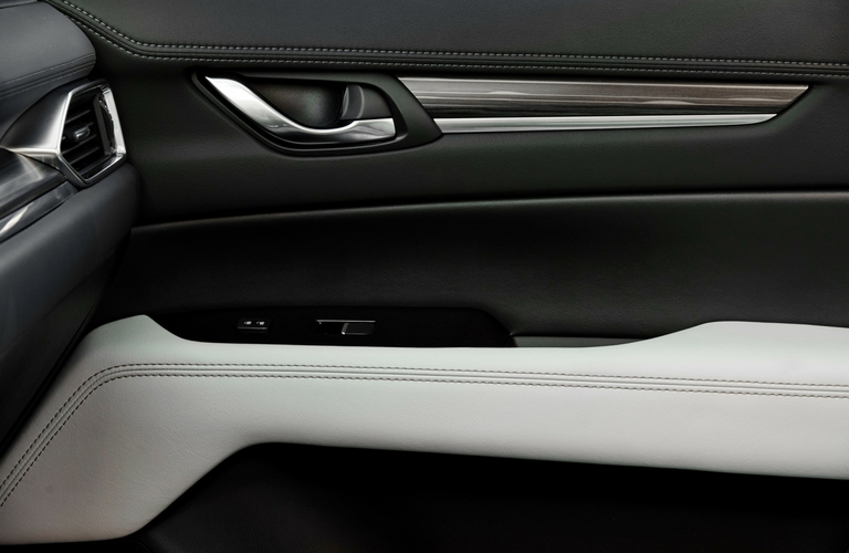 2017 Mazda CX 5 Interior Leather Stitching