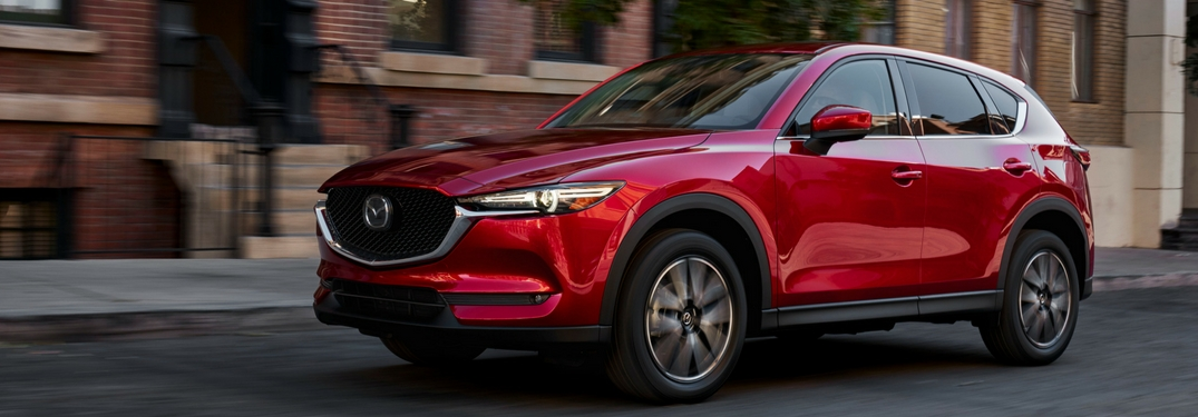 2017 Mazda CX-5 features and specs