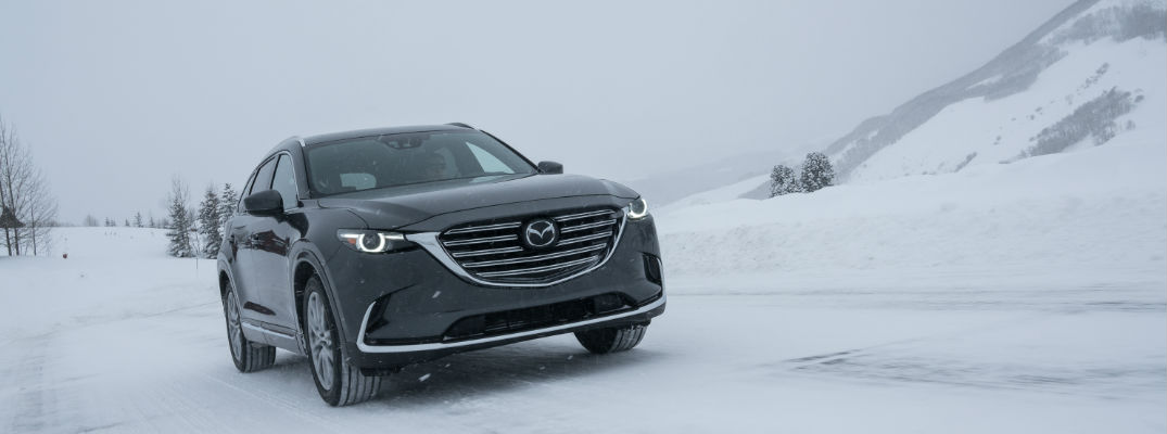 2018 Mazda CX-9 Driving in Snow All Wheel Drive Capabilities