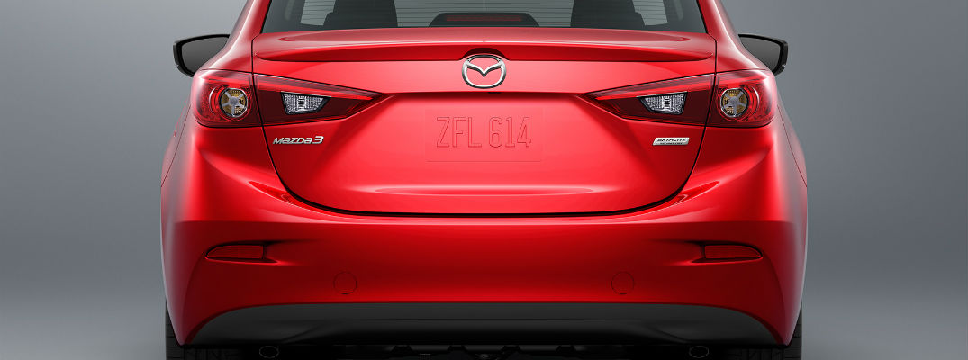Pricing information for the 2018 Mazda3