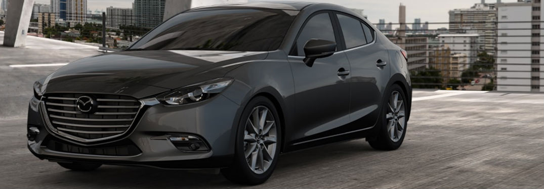 2018 Mazda3 Exterior View in Gray