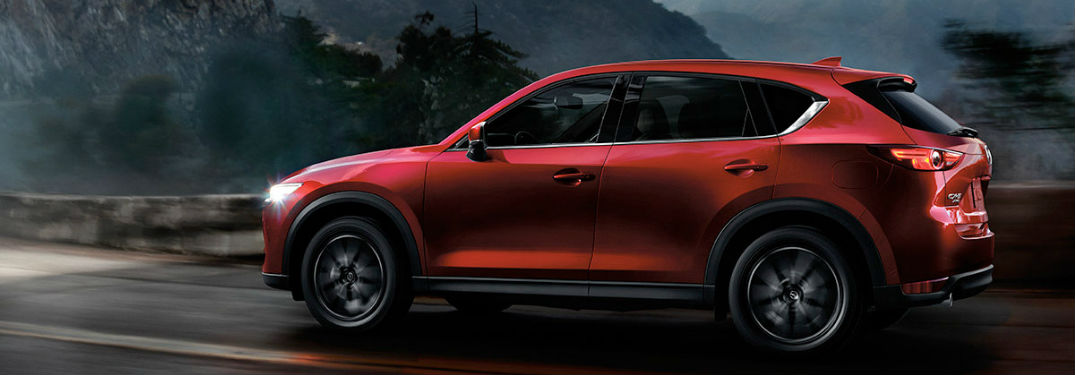 2018 Mazda CX-5 Exterior Side View in Red