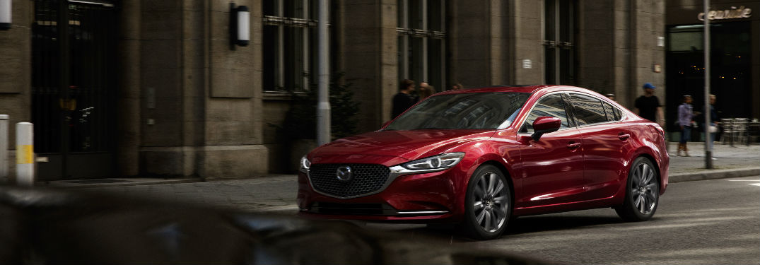 2018 Mazda6 Exterior View in Red