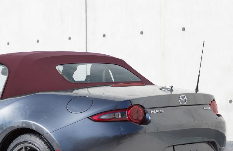 2018 Mazda MX-5 Miata Cherry Red Soft Top