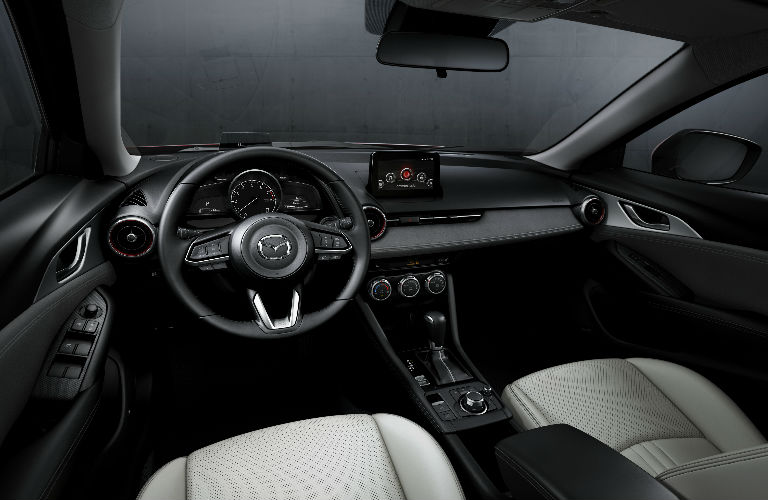 2019 Mazda CX 3 Interior View Of Front Dash And Seating