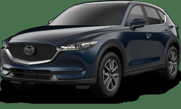 Mazda Cx 5 2017 Black >> 2018 Mazda Cx 5 Front View Of Deep Crystal Blue Mica O Serra Mazda