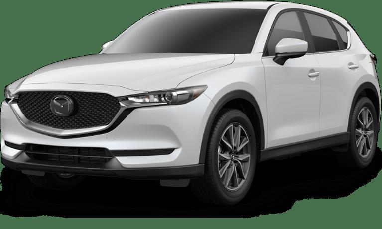2018 Mazda Cx 5 Front View Of Snowflake White Pearl Mica O Serra Mazda