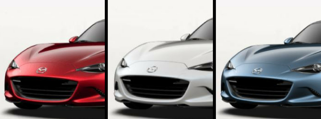 2018 Mazda MX-5 Miata in Red White and Blue Paint Colors