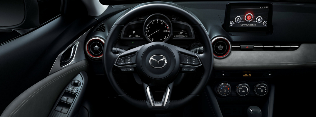 2019 Mazda CX-3 Driver Seat View of Front Cabin