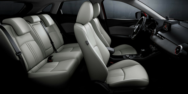 2019 Mazda Cx 3 Cargo Space With The Rear Seats Down