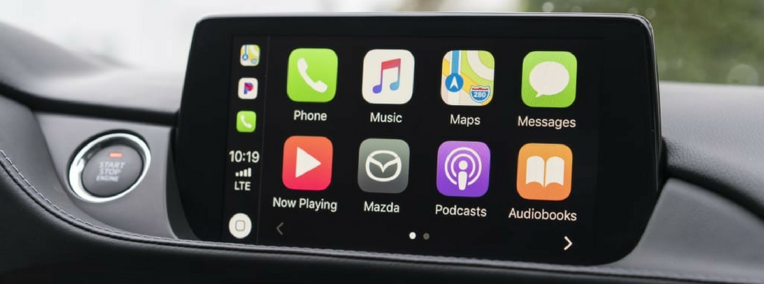 Which 2018 Mazda6 models have Apple CarPlay and Android Auto?