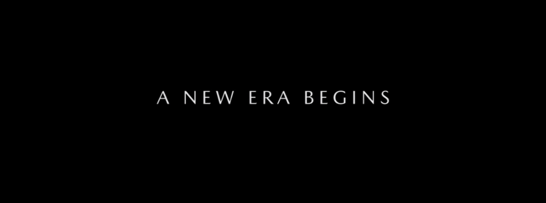 """A New Era Begins"" text from Mazda Commercial"