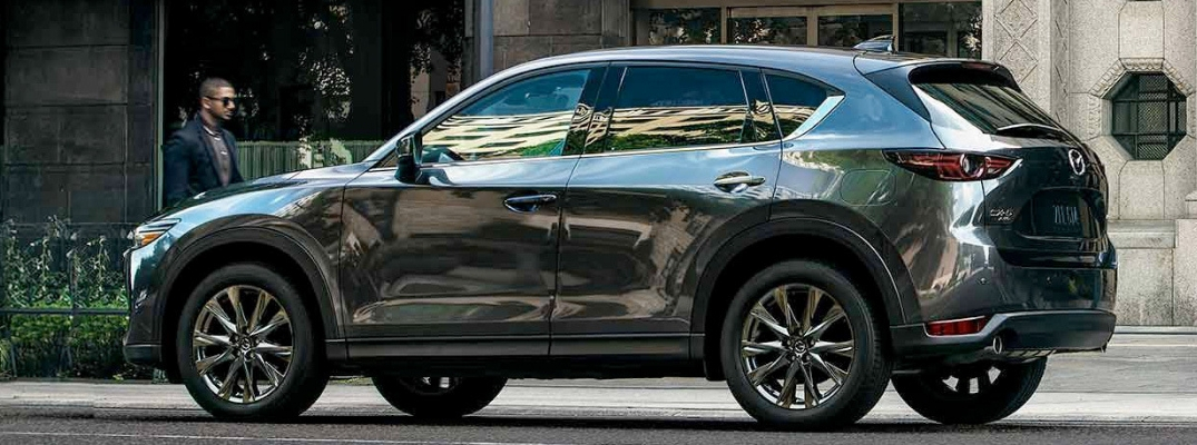 2019 Mazda CX-5 Side View of Dark Gray Exterior