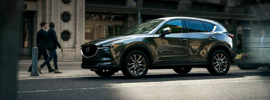 People gathered around 2019 Mazda CX-5
