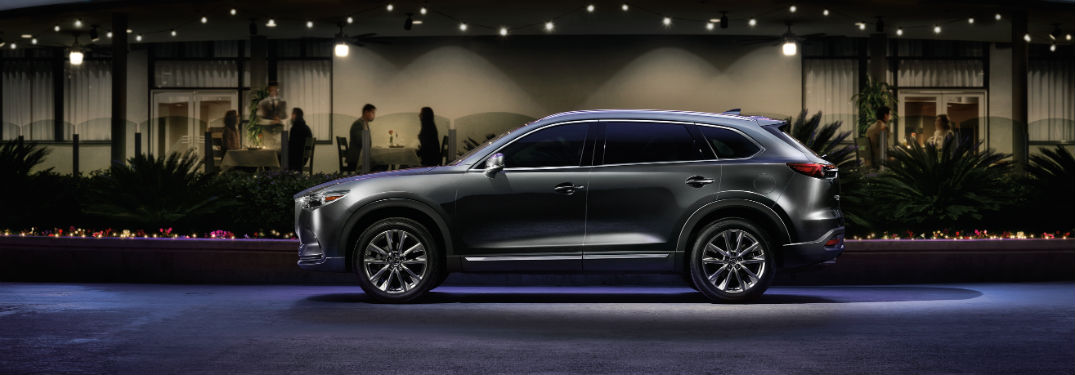 2019 Mazda CX-9 exterior drivers side profile