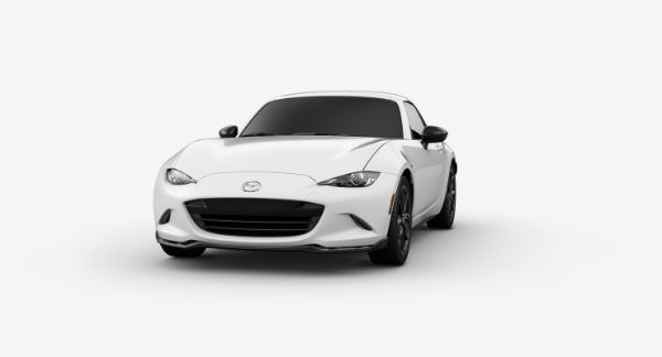 2019 Mazda MX-5 Miata RF in Arctic White