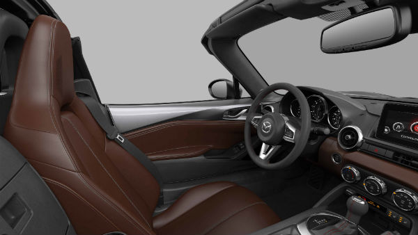 Auburn Nappa Leather Interior