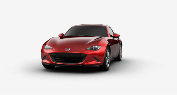 2019 Mazda MX-5 Miata RF in Soul Red Crystal Metallic