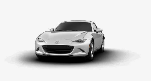 2019 Mazda MX-5 Miata RF in Ceramic Metallic