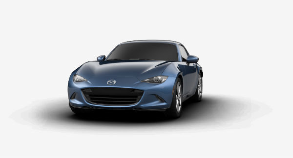2019 Mazda MX-5 Miata RF in Eternal Blue Mica