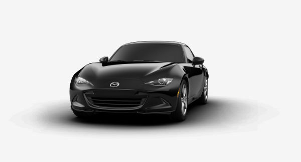 2019 Mazda MX-5 Miata RF in Jet Black Mica