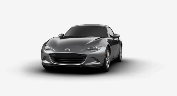 2019 Mazda MX-5 Miata RF in Machine Gray Metallic