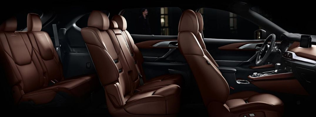 Leather seating in 2019 Mazda CX-9