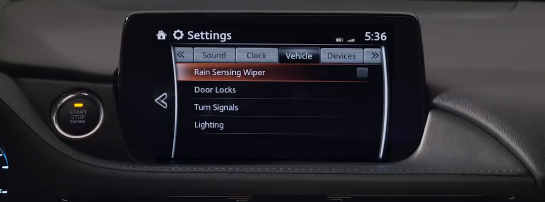 Personalize Your Mazda Vehicle's Infotainment and Safety Settings