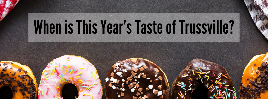Upcoming Event: 11th Annual Taste of Trussville 2019