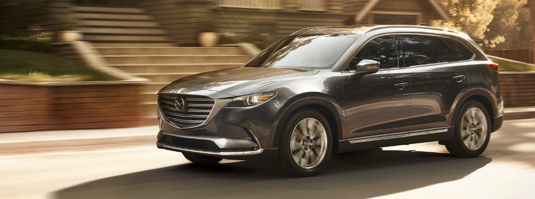 Mazda CX-9 Crossover Improves Overall Safety Rating
