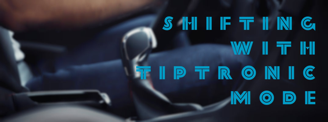 How to Shift Using Volkswagen Tiptronic Mode