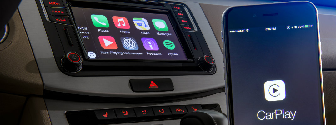 connect iphone to car how to connect to apple carplay in a volkswagen 13850