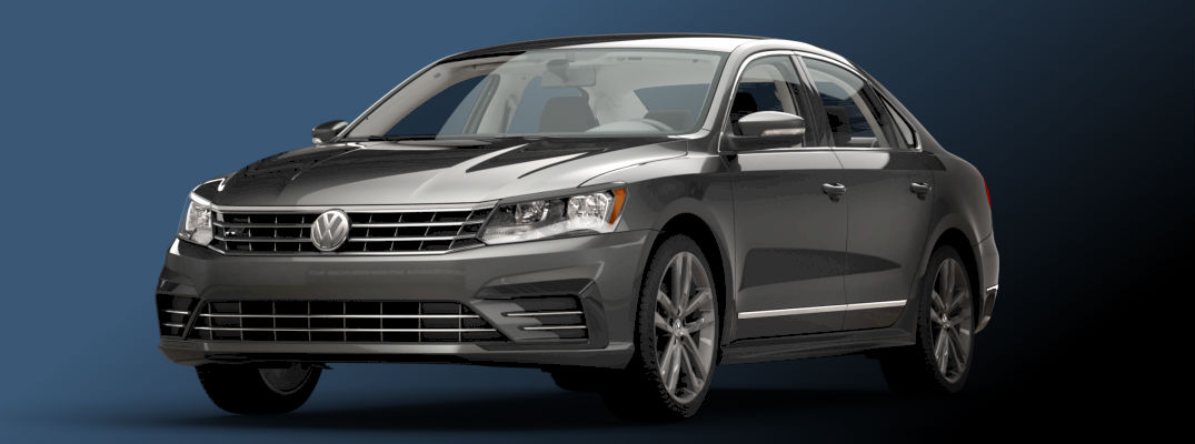 exterior styling and design on the 2016 vw passat r-line