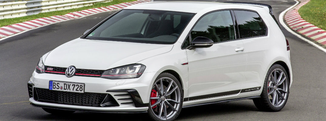 vw golf gti clubsport s exterior design features