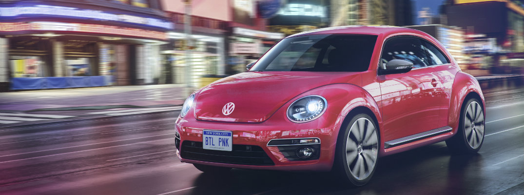 Volkswagen Unveils Limited Edition #PinkBeetle for Fall 2016 Launch