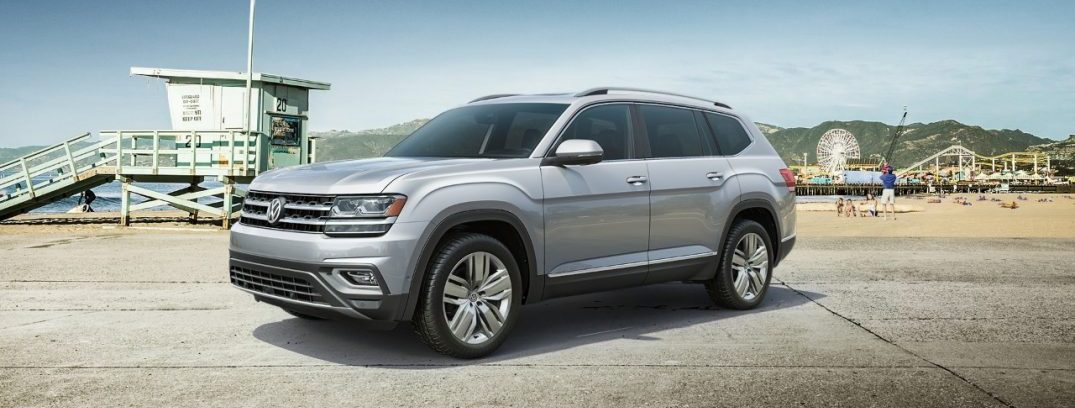 New 2018 Volkswagen Atlas 3 Row Suv