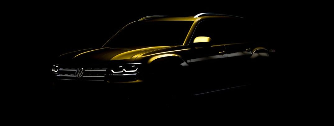2018 vw atlas teaser photo