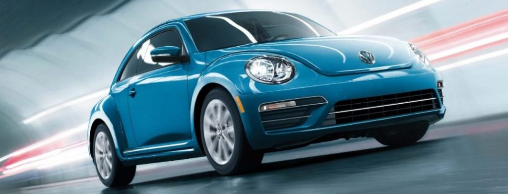 2017 Volkswagen Beetle head and legroom
