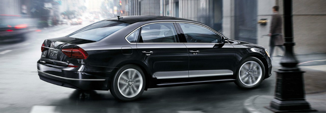 2017 Volkswagen Passat Deep Black Pearl side view