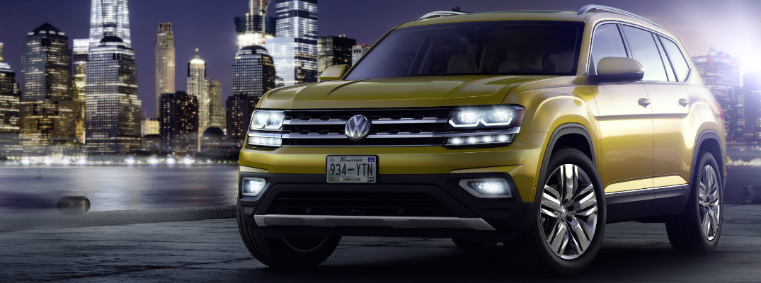 How much can the 2018 Volkswagen Atlas carry?