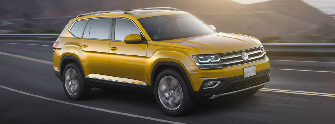 2018 Volkswagen Atlas available color options