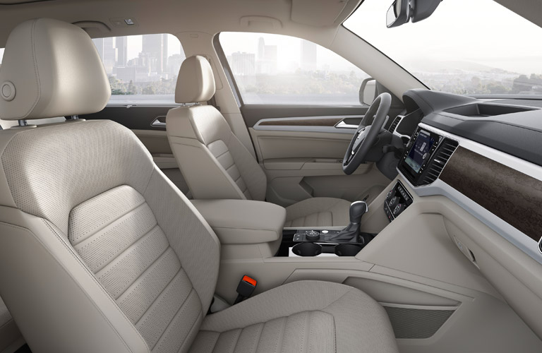 front seats of volkswagen atlas