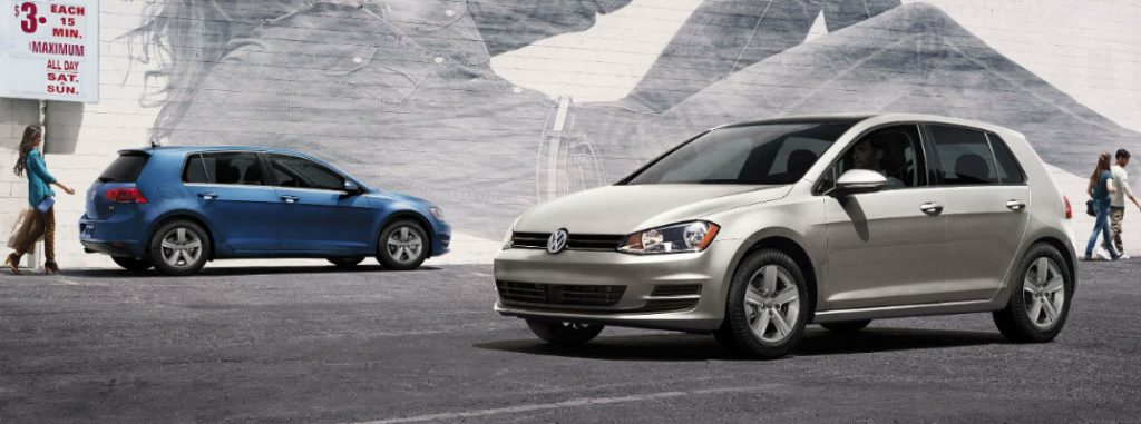 2017 Volkswagen Golf available color options