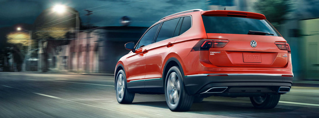 2018 Volkswagen Tiguan engine specifications and performance