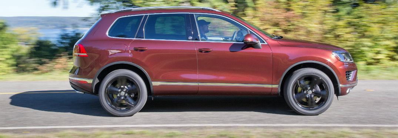 2017 Volkswagen Touareg fuel economy