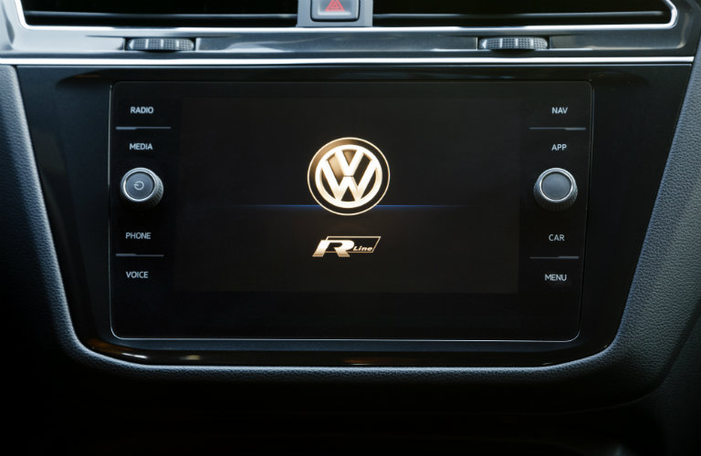 volkswagen touchscreen